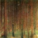 Reprodukcje obrazów Forest - Gustav Klimt