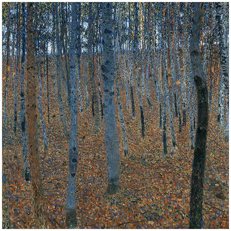 Reprodukcja obrazu Gustav Klimt Gustav Klimt Beech Grove I