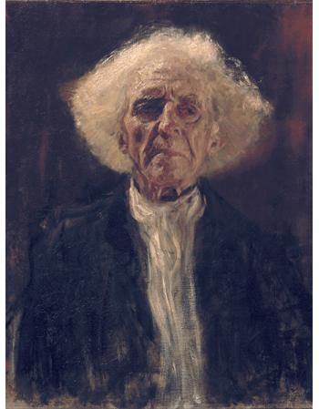 Reprodukcja obrazu Gustav Klimt Blind Man