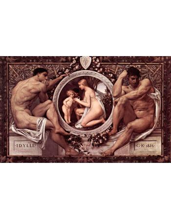 Reprodukcje obrazów Idylla - Gustav Klimt
