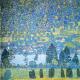 Reprodukcja obrazu Gustav Klimt Lake