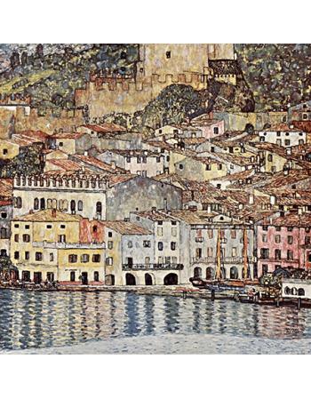 Reprodukcja obrazu Gustav Klimt Malcesine on lake garda