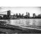 Obraz na płótnie-Fedkolor-Brooklyn Bridge New York