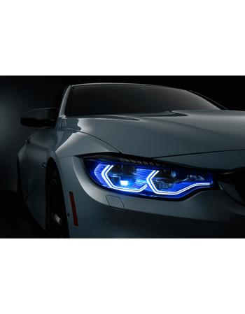 Obraz na płótnie Srebrne BMW M4