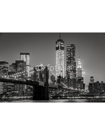 New York w nocy