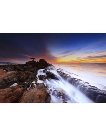 Obraz na płótnie Morskie fale