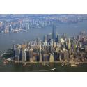 New York widziany z samolotu