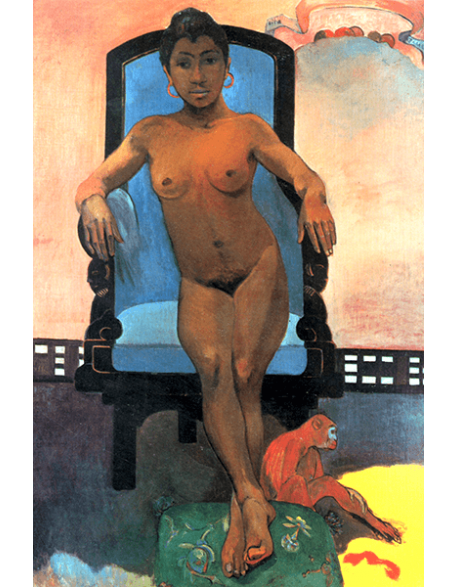 Reprodukcje obrazów Paul Gauguin Annah the Javanese, or The Child-woman Judith Is Not Yet Breached