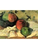 Apples and bowl, or Still Life with friend Jacob