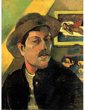 Reprodukcje obrazów Paul Gauguin Autoportret