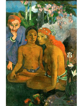 Reprodukcje obrazów Paul Gauguin Barbarian Tales