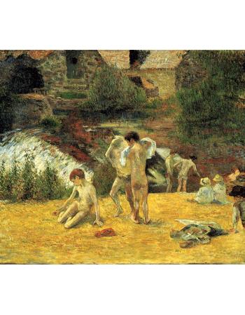 Reprodukcje obrazów Paul Gauguin Breton Boys Bathing