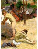 Breton boys bathing II