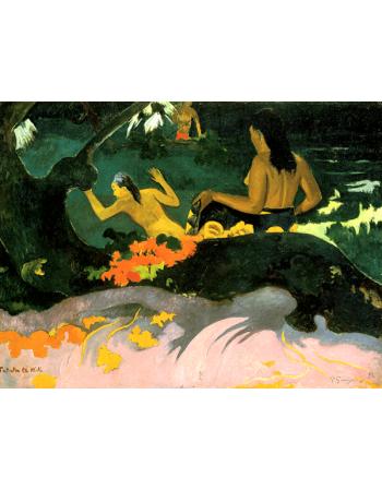 Reprodukcje obrazów Paul Gauguin By the Sea
