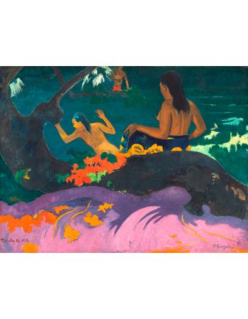 Reprodukcje obrazów Paul Gauguin By the Sea II