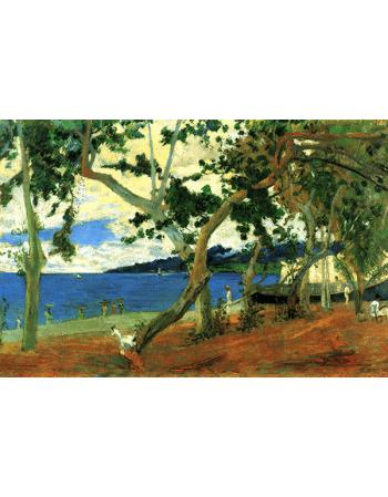 Reprodukcje obrazów Paul Gauguin By the Seashore, Martinique