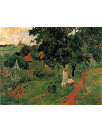 Reprodukcje obrazów Paul Gauguin Coming and Going, Martinique