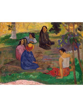 Reprodukcje obrazów Paul Gauguin Conversation