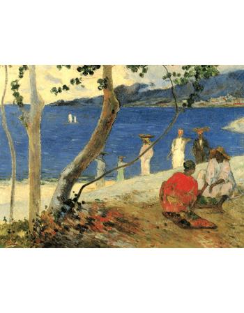 Reprodukcje obrazów Paul Gauguin Fruit Cove Turin carriers or Seaside II