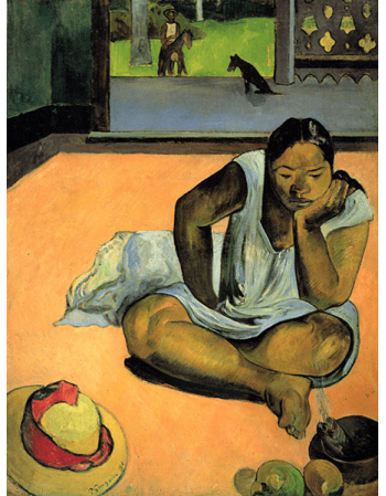 Reprodukcje obrazów Paul Gauguin Gloom