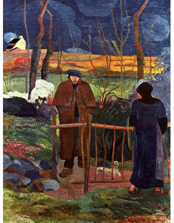 Reprodukcje obrazów Paul Gauguin Good morning Gauguin