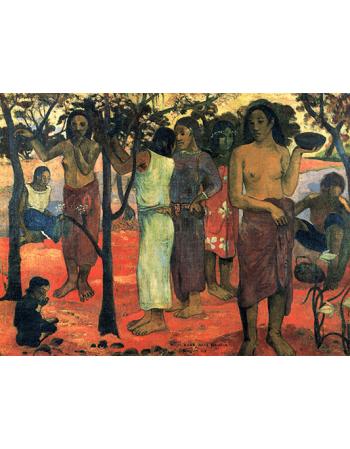 Reprodukcje obrazów Paul Gauguin Gorgeous day