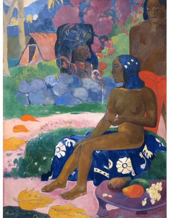 Reprodukcje obrazów Paul Gauguin Her Name Vairaumati