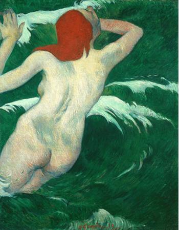 Reprodukcje obrazów Paul Gauguin In the Waves or Ondine