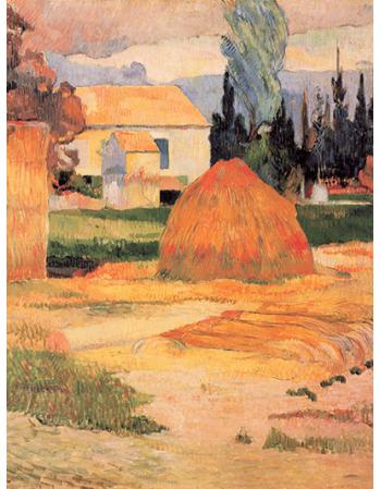 Reprodukcje obrazów Paul Gauguin Landscape Near Arles