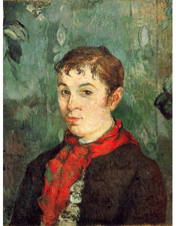 Reprodukcje obrazów Paul Gauguin The Boss's Daughter