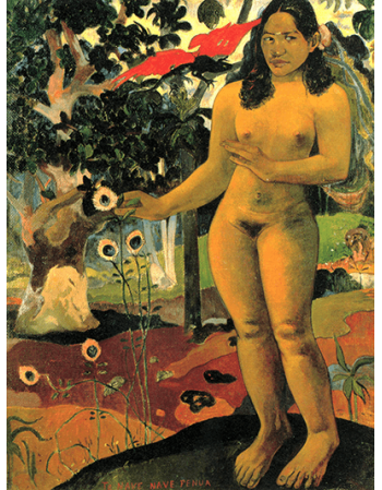 Reprodukcje obrazów Paul Gauguin The Delightful Land
