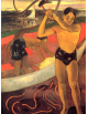 Reprodukcje obrazów Paul Gauguin The man with the axe