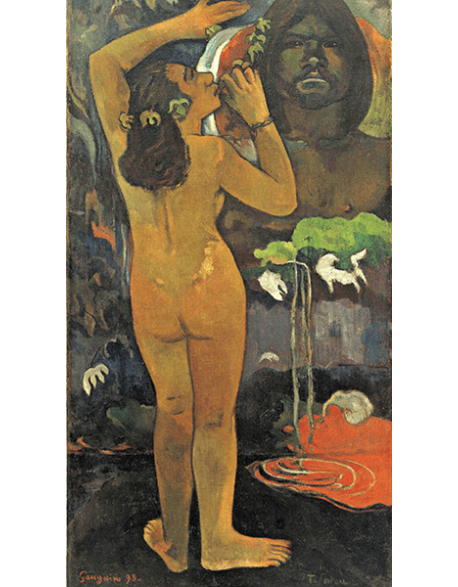 Reprodukcje obrazów Paul Gauguin The Moon and the Earth