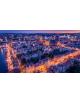 Obraz-na-płótnie-fotoobraz-Gdańsk-Stare Miasto o zachodzie