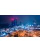 Obraz-na-plotnie-fotoobraz-fedkolor-Warszawa-Centrum-nocą