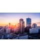 Obraz-na-plotnie-fotoobraz-fedkolor-Warszawa-Centrum-o-zachodzie