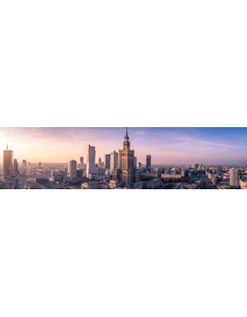 Warszawa - Panorama z Pałacem Kultury