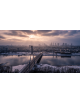 Obraz-na-plotnie-fotoobraz-fedkolor-Warszawa-Zimowa-panorama