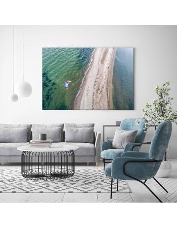 Obraz na płótnie fotoobraz Gdańsk Plaża Rewa
