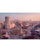 Obraz na płótnie fotoobraz fedkolor Warszawa - Rondo Radosław