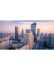 Obraz na płótnie fotoobraz fedkolor Warszawa - Widok na centrum