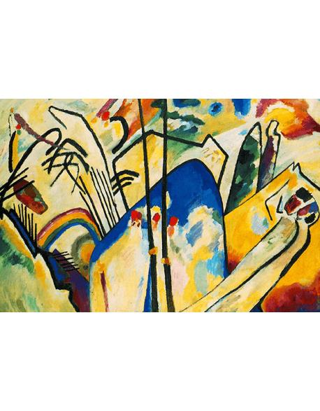 Reprodukcje obrazów Wassily Kandinsky Composition IV
