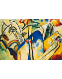 Reprodukcje obrazów Composition IV - Wassily Kandinsky