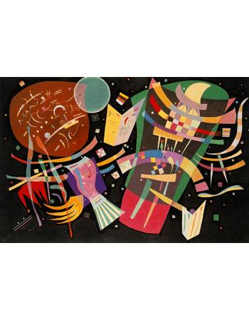 Reprodukcje obrazów Composition X - Wassily Kandinsky