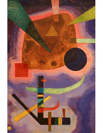 Reprodukcje obrazów Three elements - Wassily Kandinsky
