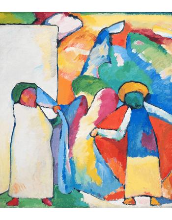 Reprodukcje obrazów Improvisation 6 - Wassily Kandinsky