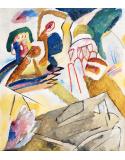 Reprodukcje obrazów Improvisation 18 - Wassily Kandinsky