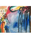 Reprodukcje obrazów Improvisation 19 - Wassily Kandinsky