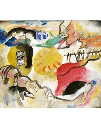 Reprodukcje obrazów Improvisation 27 - Wassily Kandinsky