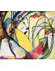 Reprodukcje obrazów Improvisation_10 - Wassily Kandinsky
